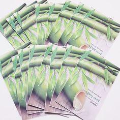 Nature Republic Real Natural Facial Masks Bamboo 23ml 3/7/14/30 Sheets Lot  #NatureRepublic