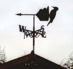 Bird weather vane