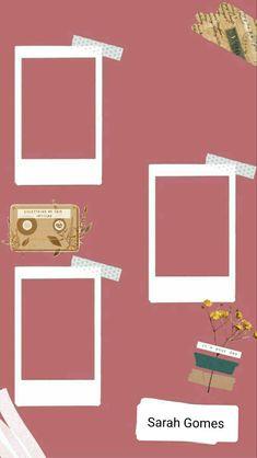 Divirta-se!! Creative Instagram Stories, Instagram Blog, Instagram Story Ideas, Instagram And Snapchat, Polaroid Picture Frame, Instagram Frame Template, Polaroid Template, Photo Collage Template, Instagram Background