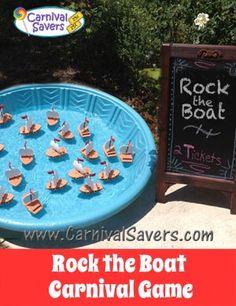 Rock the Boat Carnival Game