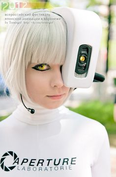 GLaDOS finally does something with all those spare test subjects...she got her body back!