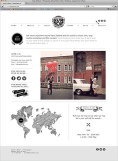 Bayly & Moore Website Design on Behance