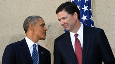 Why would a sitting president (Barack Hussein Obama) want FBI Director James Comey to keep his findings