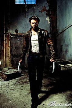 Hugh Jackman as Wolverine/Logan - X-Men, X2, X-Men: The Last Stand, X-Men Origins: Wolverine.
