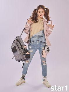Jeon So Mi Makes Her Feature in '@star1' Photoshoot   Koogle TV