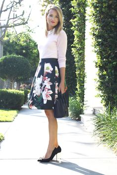 The Style Editrix in Ted Baker