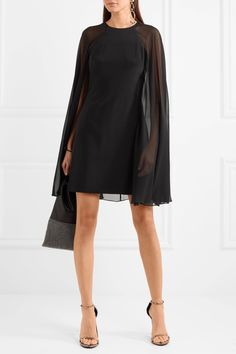 Essentials Wrap-effect Stretch-knit Dress - Black Diane Von Fürstenberg Outlet Discount Top Quality For Sale Low Shipping Low Shipping Fee Cheap Price OFexnh