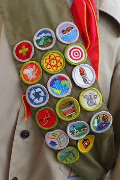 Where are my badges?