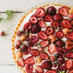 Summer Strawberry Tart