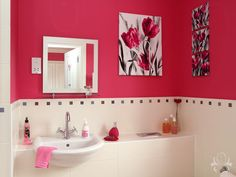 Cobham Interior Design - Pink Bedroom Interior Design for Cobham, Surrey, Middlesex, London, Kent & other parts of Southern England - Contemporary & Traditional Interior Design From Outstanding Interiors of Weybridge Surrey Pink Bathrooms Designs, Surrey, Pretty In Pink, Traditional, Contemporary, Interior Design, Bedroom, Bathroom Ideas, Furniture