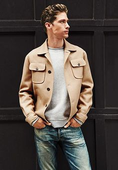 """The Jean-Jacket Alternative: """"This fall, the cropped camel coat will be everywhere..."""" - The Complete [2014] Fall Style Cheat Sheet: Rules of Style"""