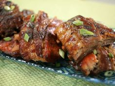 Slow Oven Baked Ribs. Get this recipe from the Kimberly's Simply Southern episode on GAC >>  http://www.greatamericancountry.com/living/food/oven-roasted-ribs?soc=pinterest