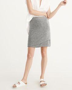 A&F Women's Cozy Wrap Skirt