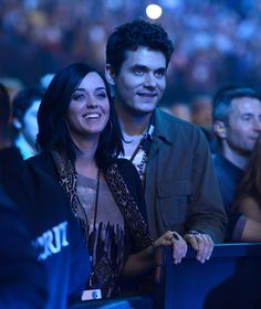 Katy Perry & John Mayer see the Rolling Stones