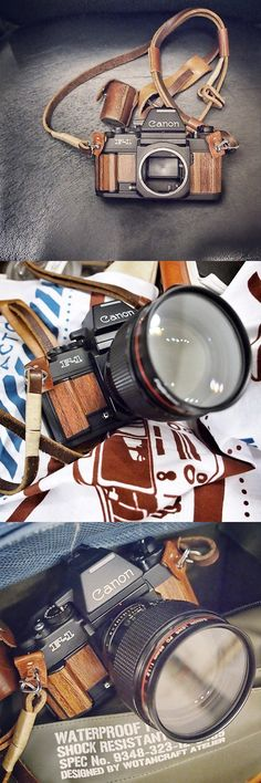 Canon F1 in Wood Interpretation