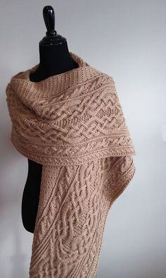 Introductory Special Save 25 off the regular price April 12 - 14 2018 No coupon required Knitted Shawls, Crochet Scarves, Crochet Shawl, Knit Crochet, Cable Knitting, Hand Knitting, Knitting Designs, Knitting Patterns, Ravelry