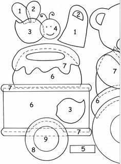 Interlinings and patchwork: Patterns for applications Quilting Templates, Applique Templates, Applique Patterns, Applique Designs, Felt Crafts Patterns, Patchwork Patterns, Crazy Patchwork, Quilt Patterns, Hand Applique