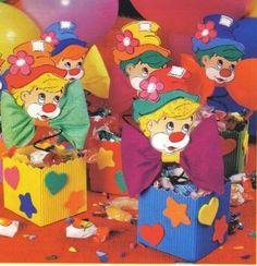 Manualidades Luna Clara: Cajita para cumpleaños infantiles