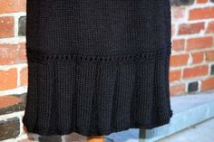 Ravelry: Little Flirt Skirt pattern by Faina Goberstein- free pattern- or bring the pleats up higher to make a drop waist