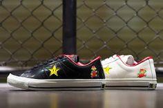 Super Mario Converse One Star Sneakers!