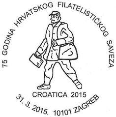 Ein Postbote ziert den Sonderstempel zum 75. Jubiläum der Philatelieföderation Kroatien. Zahlreiche Aufgaben rund um die Philatelie übernehmen die nationalen Föderationen. Allen voran steht natürli...