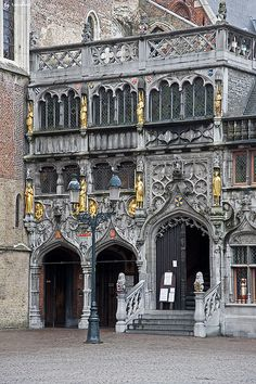 Basilica of the Holy Blood, Brugge, Belgium