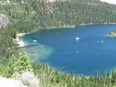 Emerald Lake, Lake Tahoe Emerald Lake, Lake Tahoe, Adventure, Water, Outdoor Decor, Gripe Water, Adventure Movies, Adventure Books