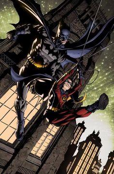DC: Batman & Robin - David Finch,,,,,!!!!>>