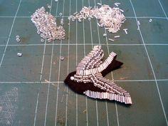 Lucette et Suzette: DIY collier oiseau Shourouk like #Lucette