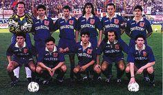 U de Chile formacion 1995 Ballet, Chile, Grande, Football Equipment, Legends, Universe, Sports, University, Antique Photos