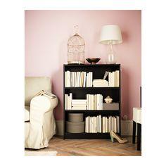 BILLY Bibliothèque - brun noir - IKEA 49e