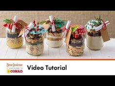 Regali in barattolo! | Tutorial Conad Bene Insieme - YouTube