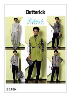 B6389   Butterick Patterns