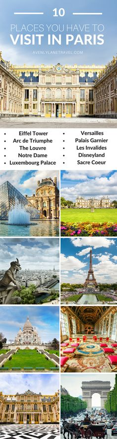 10 Things you have to see your first time in Paris | Things to see in Paris, France | Avenly Lane Travel
