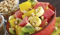 salada de frutas com quinoa - Foto Getty Images
