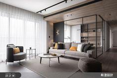 現代風的裝潢圖片為新澄設計的設計作品,新澄_45之4設計案例,是一間新成屋(5年以下),總坪數為42,格局為三房,更多新澄設計設計案例作品都在設計家 Searchome