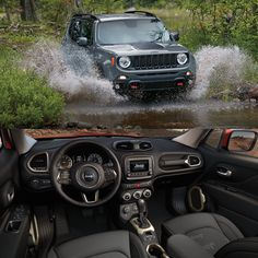 The #2017 #Jeep #Renegade - Push the boundaries of #adventure. #ggbailey #carmats #carinterior