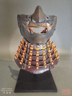This is a restoration project for an edo period samurai armour menpo. It really pushed my katchushi skills to the max and took over one year to complete. Cherry Blossom Japan, Cherry Blossoms, 47 Ronin, Warrior Helmet, Samurai Armor, Edo Period, Ancient Civilizations, Over The Years, Armour