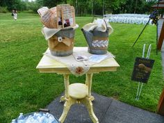 "Great brides table upcycle from one of our readers.""Junk Salvation"" by Funky Junk Sisters"