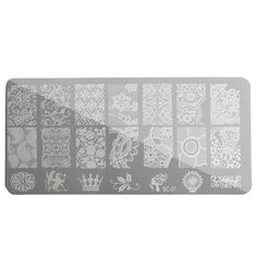 Nail Art Image Stamping Template Printing Plate Polish Gel DIY Tips Design Manicure 4 Styles - $ 3.41