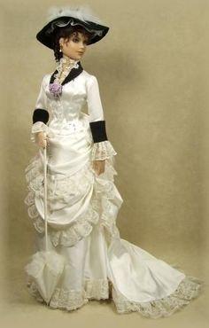 Enchanted Serenity of Period Films: Crawford Manor - Custom made Dolls: