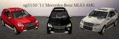 2011 Mercedes-Benz ML63 AMG at SG5150 via Sims 4 Updates