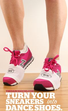 Knees hurt dancing in sneakers?  Try The DanceSocks!  Sneaker socks for dance and dance fitness like Zumba, Cize, Line Dance and Salsa.  Twist & turn in any sneaker reducing strain on ankles, knees and hips.  Learn More: www.thedancesocks.com