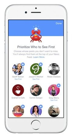 The new See First Facebook news feed preferences update lets you pick friends and pages to see at the top of your feed