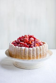 Mixed Berry Charlotte from Patisserie Made Simple
