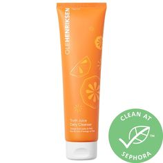 Shop OLEHENRIKSEN's Truth Juice™ Daily Cleanser at Sephora. A plush gel cleanser that deeply cleanses and invigorates skin. Ole Henriksen, Fruit Water, Best Skincare Products, Beauty Products, Orange Fruit, Glowy Skin, Oily Skin Care, Healthy Beauty, Beauty Junkie