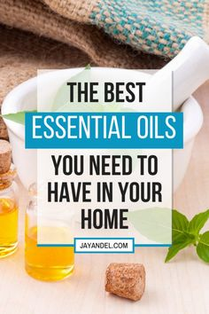 There are so many ways you can use essential oils at home. And that's the reason why I made a list of the of the best essential oils you will want to have at home, and what they can be used for!