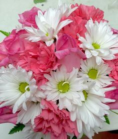 Elegant Events Florist | Floral Delivery | Philly Florist | Philadelphia | Happy Birthday | Get Well | Thinking of you | Sympathy | Anniversary | Congrats | Pink Roses | White Daisies | Pink Carnations | Pretty In Pink |