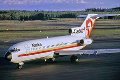 Alaska Airlines Boeing 727-90C