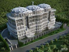 Инвестиционный проект в Сочи.: архитектура, модернизм, гостиница, мотель, 6-12 эт | 18-36м, 5000 м2 и более, каркас - ж/б, здание, строение #architecture #modernism #hotel #motel #612floors_1836m #5000m2иболее #frame_ironconcrete #highrisebuilding #structure arXip.com